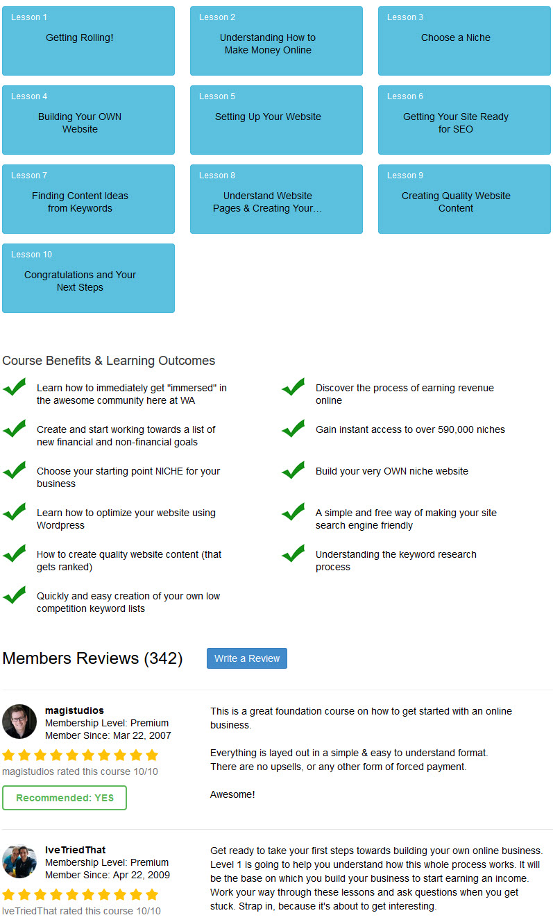 online certification lessons