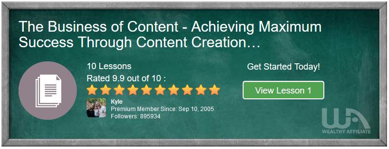 Achieving Maximum Success Through Content Creation