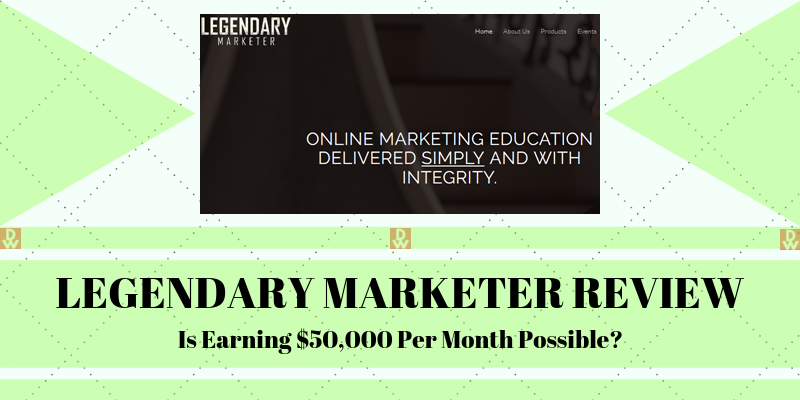 Actual Size Of  Legendary Marketer Internet Marketing Program