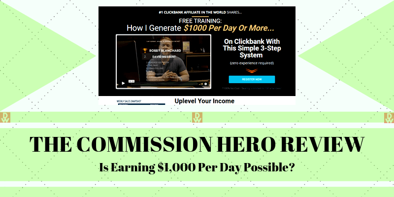 Affiliate Marketing Commission Hero  Vip Coupon Code 2020
