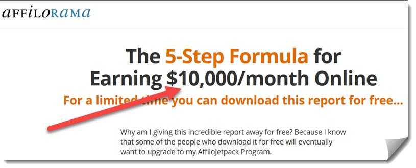 affilorama earning potential