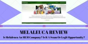 is melaleuca an mlm company