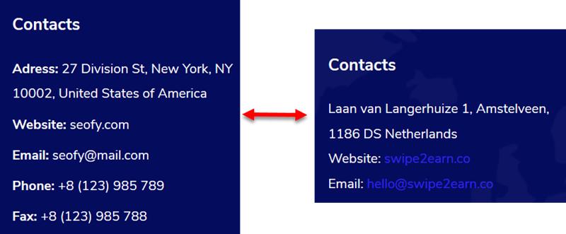 swipe 2 earn contacts